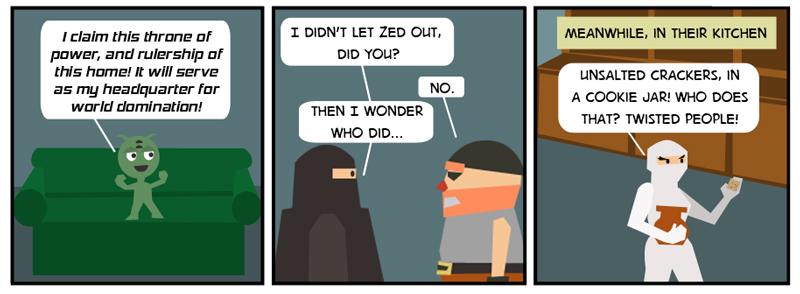 Zed's Escape
