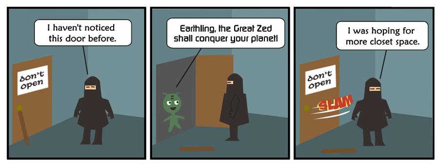 Alien Zed:1 of 3