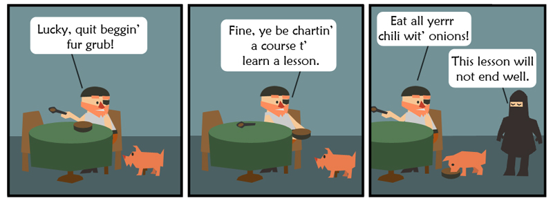 Bad Lesson
